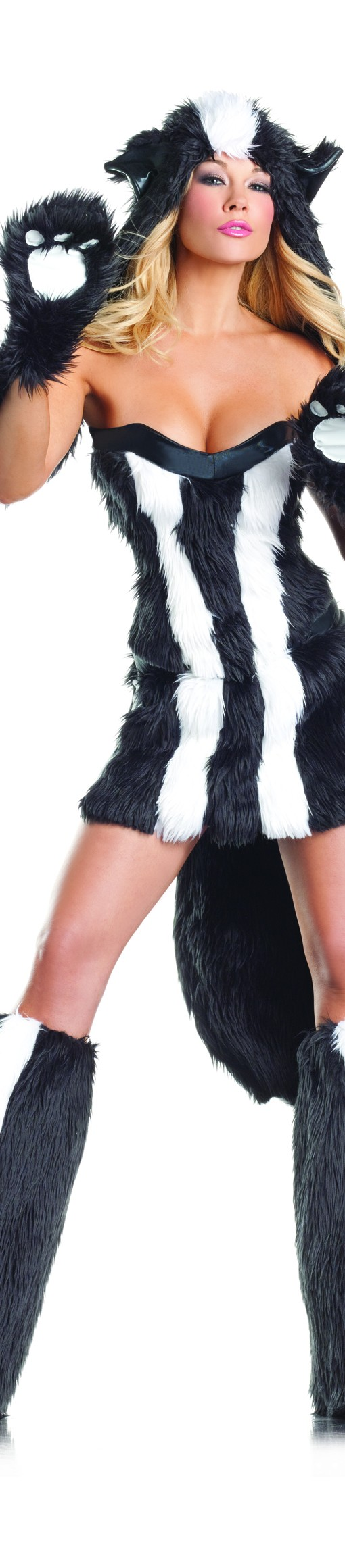 Sexy Sassy Furry Skunk Costume