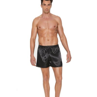 Charmeuse satin unisex boxer short.