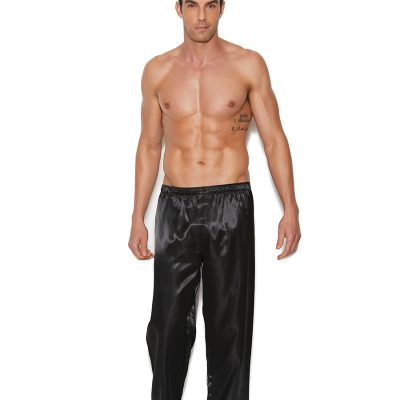 Charmeuse satin unisex pants.